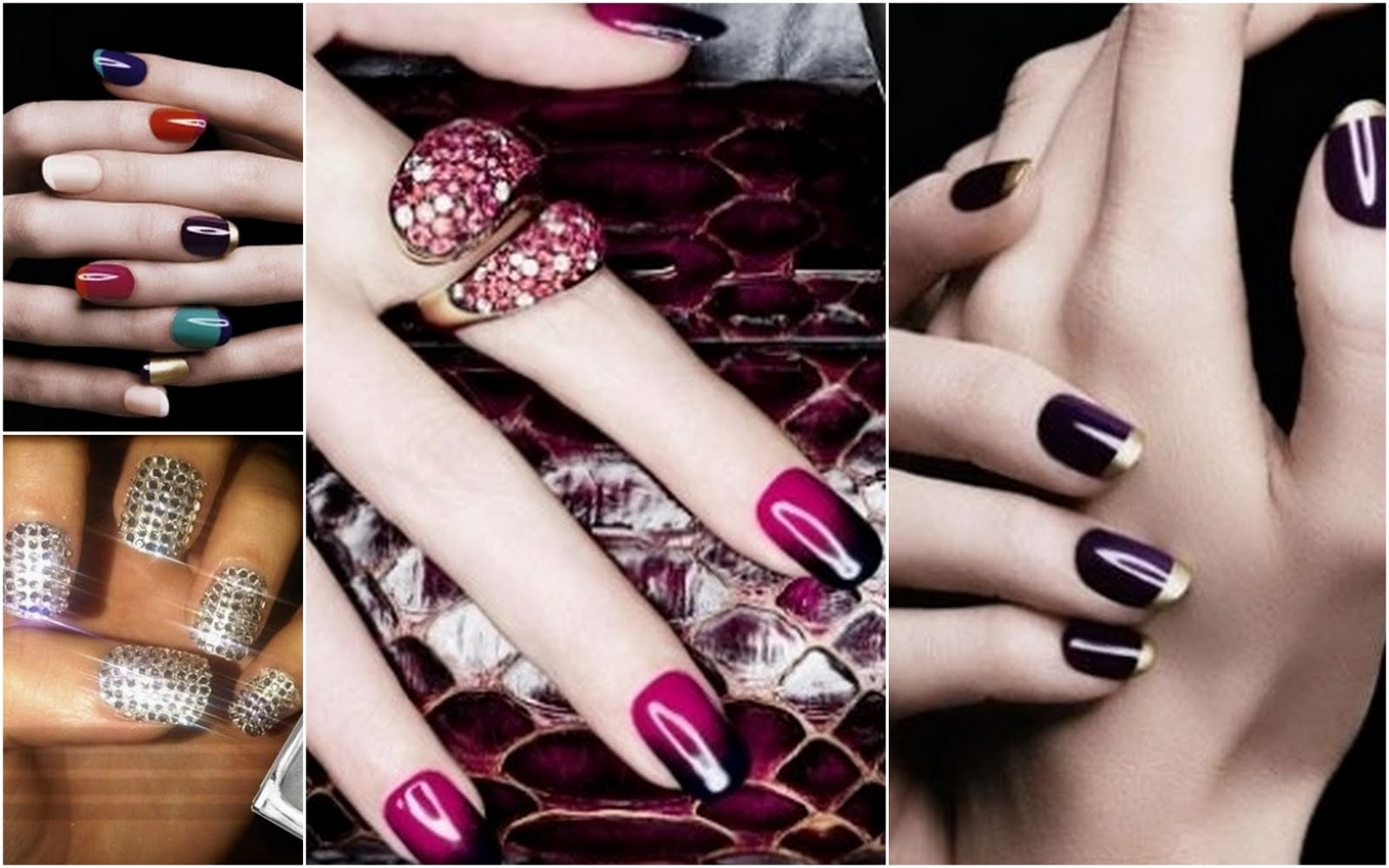 Glam Nail Art Trends For Fall News Fashions Asian