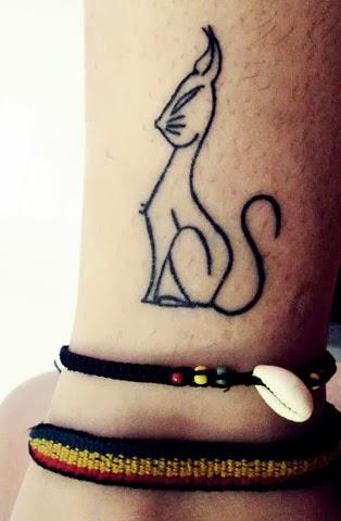 Tattoos Gato