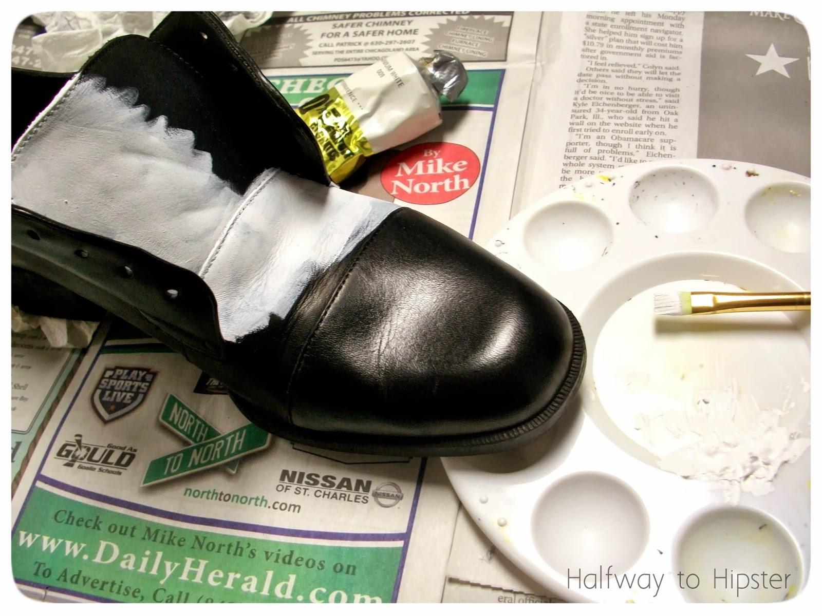 DIY Spectator Shoes