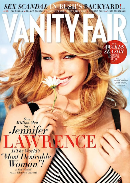Jennifer Lawrence in Vanity Fair February 2013