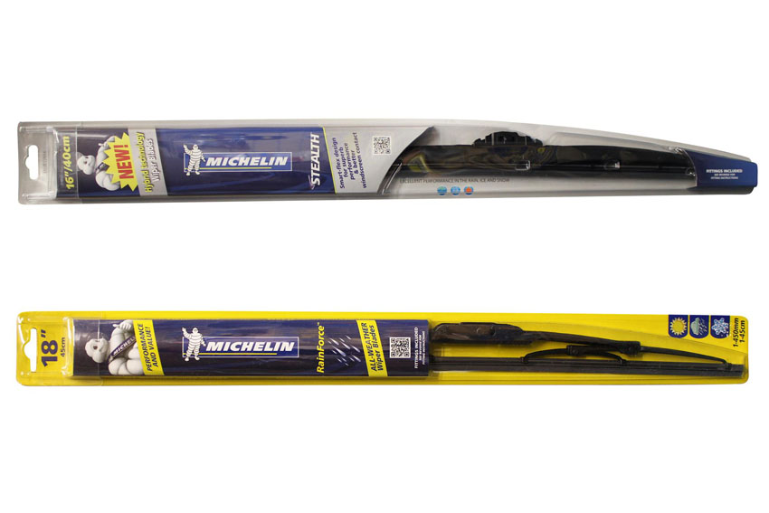 Michelin Has Launched Its New Stealth And Rainforce Ranges Of Windscreen Wiper Blades Which Together Offer Replacement Fitments For Approximately  Per