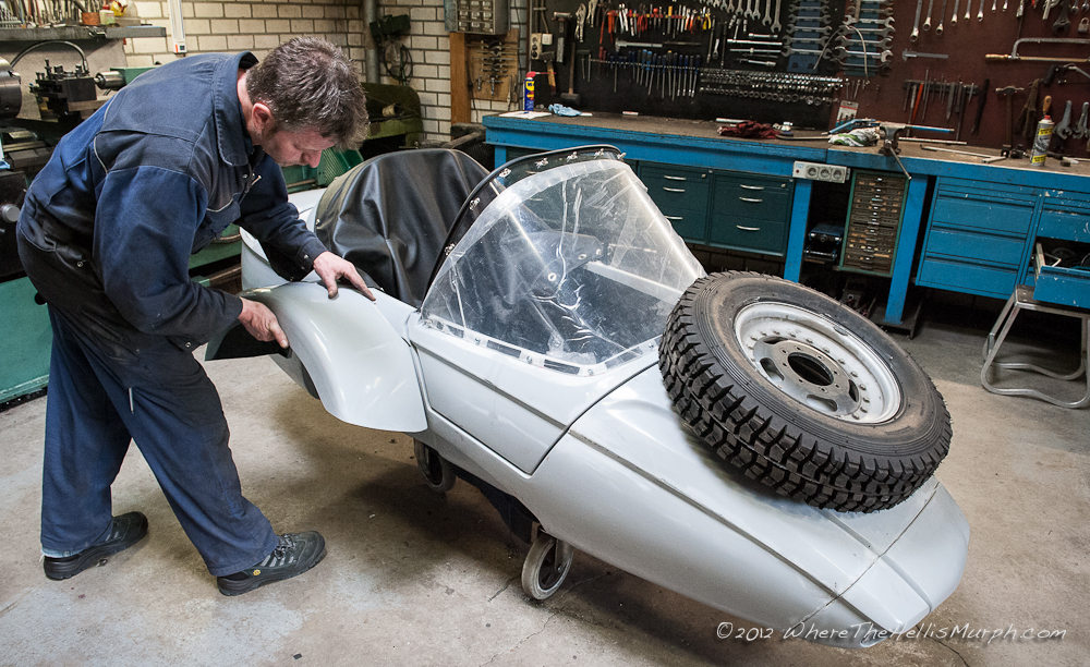Where the Hell is Murph       MOBEC DUO DRIVE BMW 2WD SIDECAR