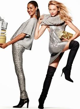 H&M colección ropa de fiesta mujer campaña Navidad