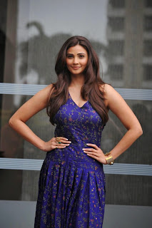 Actress Daisy Shah Pictures in Long Floral Dress at Lakme Fashion Week Winter Festive 2014  7