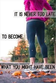 fitness motivation, it's never too late
