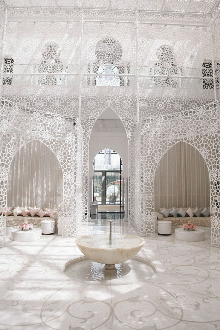 Lamb Amp Blonde The Royal Mansour Hotel Marrakech