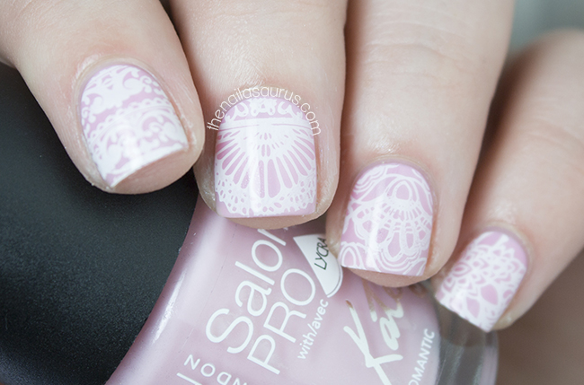 Something new moyou london bridal collection the nailasaurus stamping nail art with moyou bridal collection 06 the nailasaurus british nail art blog prinsesfo Images