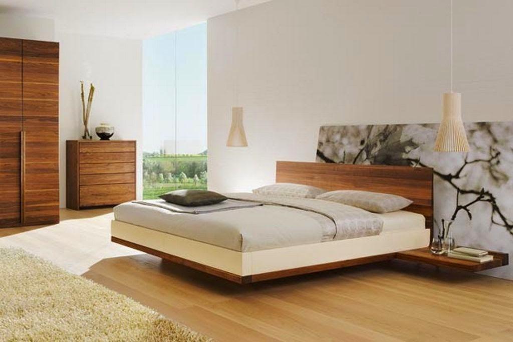 Construindo minha casa clean camas modernas e com - Camas modernas japonesas ...