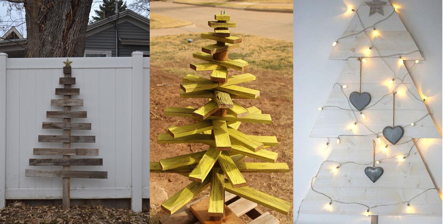 Bridoor s l rbol de navidad realizado con madera para el - Arboles de navidad pequenos ...