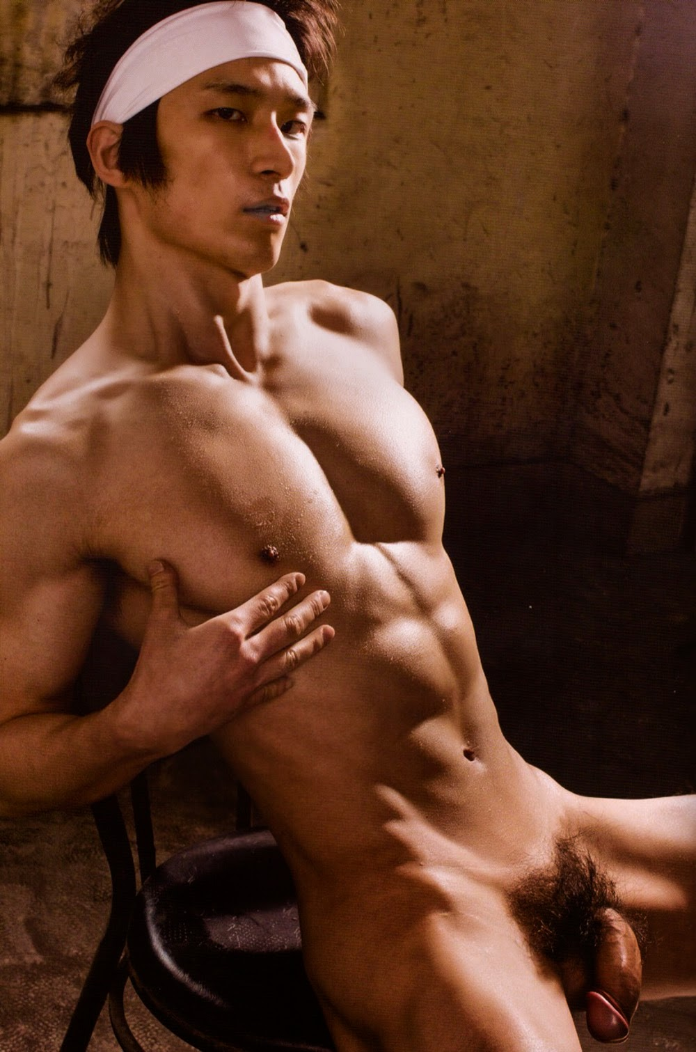 hot korean guys naked