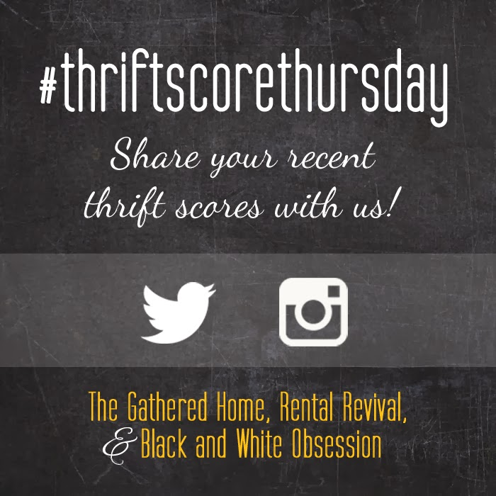 #thriftscorethursday Week 8 | Trisha from Black and White Obsession, Brynne's from The Gathered Home, and Megan from Rental Revival