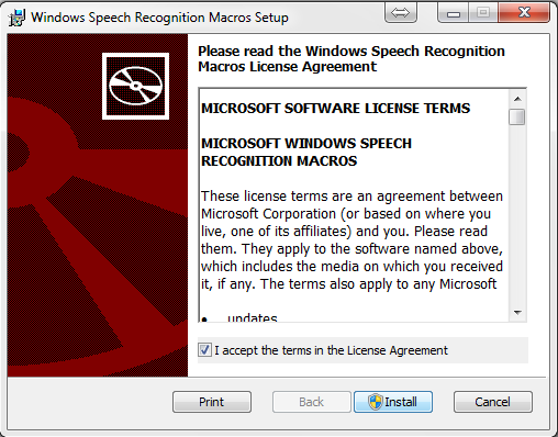 windows speech recognition macros software free