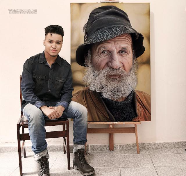 PIntura Óleo sobre tela ( Pintura Realista 80x120) Maurício Fortunato Araújo
