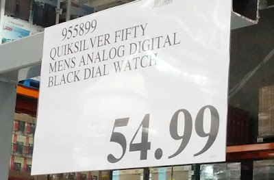 Deal for the Quiksilver The Fifty50 Men's Watch at Costco