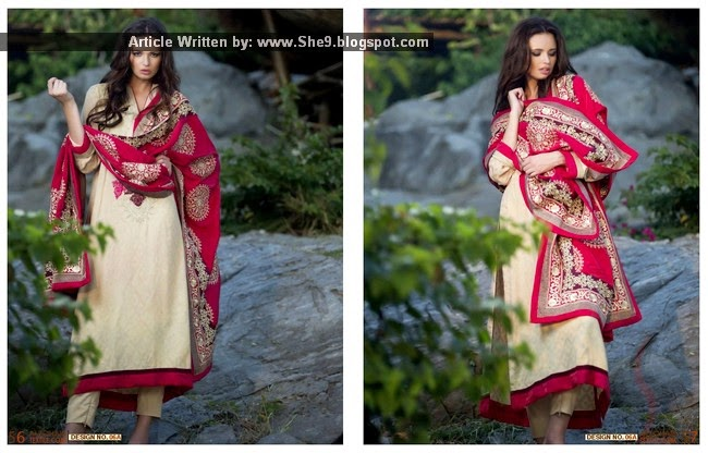 Mahiymaan Royal Shawl Dress Collection