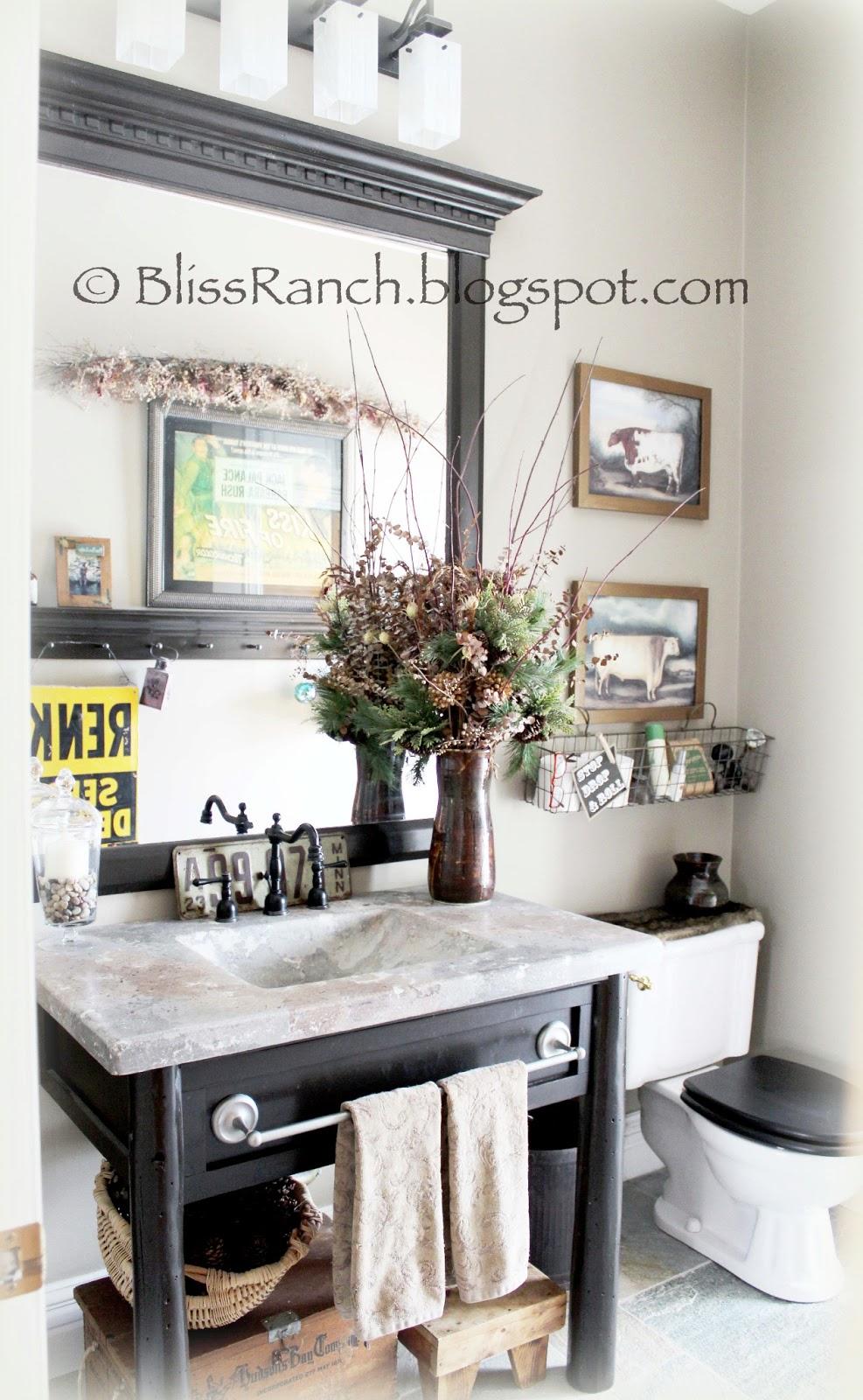 Bliss ranch avoiding my dining room redo with a bathroom tour for Megan u bathroom tour