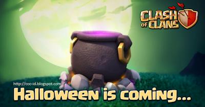 Halloween Telah Datang, Update Clash of Clans Oktober 2015