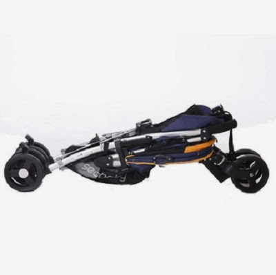 Xe đẩy Seebaby SO6-A gấp gọn dễ dàng