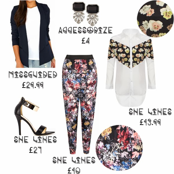 Steal Her Style Solange Knowles what she wore get the look missguided she likes floral print