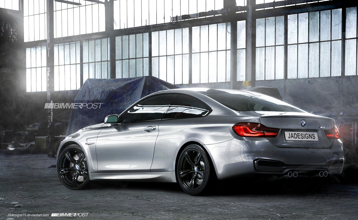 nancys car designs 2014 bmw m4 coupe rendered what do. Black Bedroom Furniture Sets. Home Design Ideas
