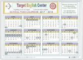 Calendar 2017 - 2018