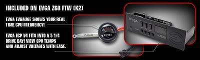 EVGA Z68 Motherboards - FTW , SLI , SLI Micro accessories