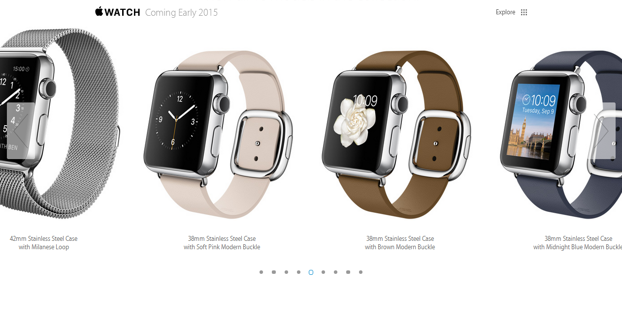 Who will test drive Apple Watch, sitting on an armchair ...
