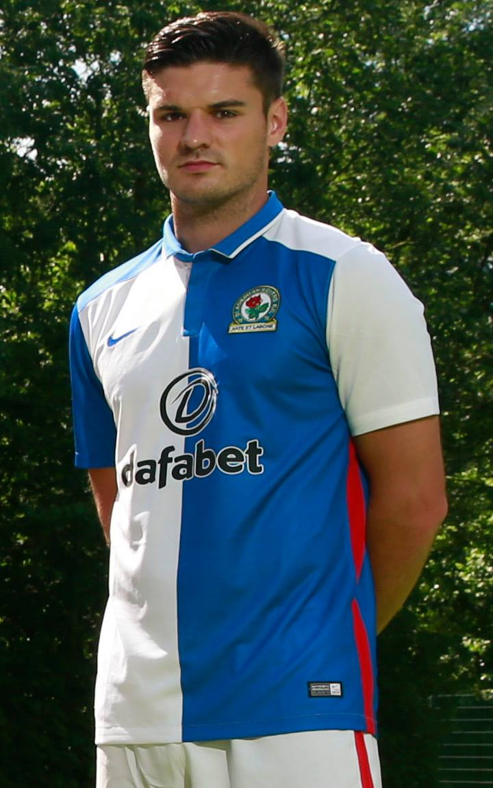 Blackburn rovers 15 16 home and away kits revealed footy for Blackburn home