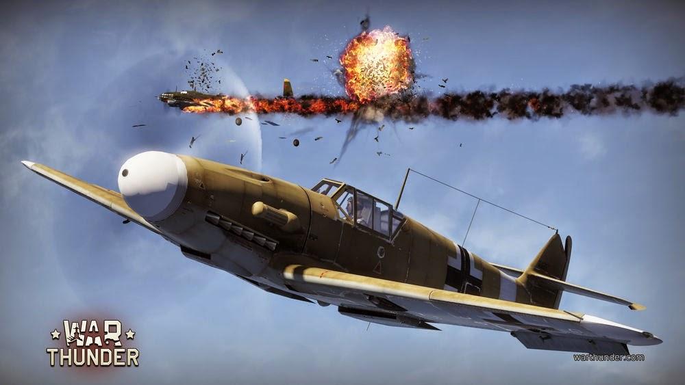Warthunder Flugzeugexplosion
