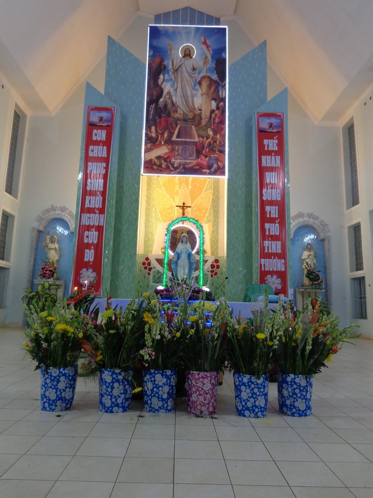 GX.ĐỒNG TIẾN KHAI MẠC THÁNG HOA-2018