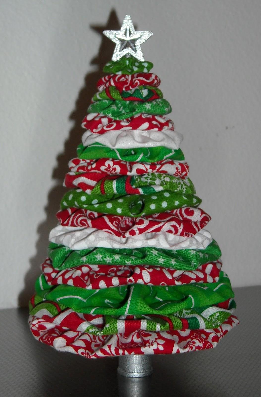 Crafter Without A Cat Yo Yo Christmas Tree