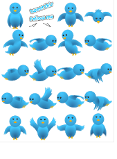 How to Add Animated Twitter Bird Widget In Website And Blogger