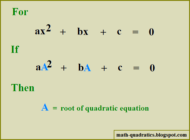how to put my graph into a quadraic equation
