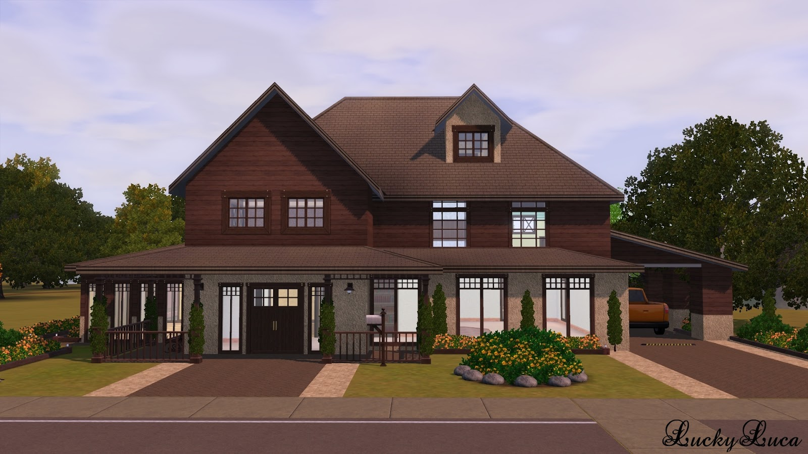 My sims 3 blog symphony family house by lucky luca for Family homes com