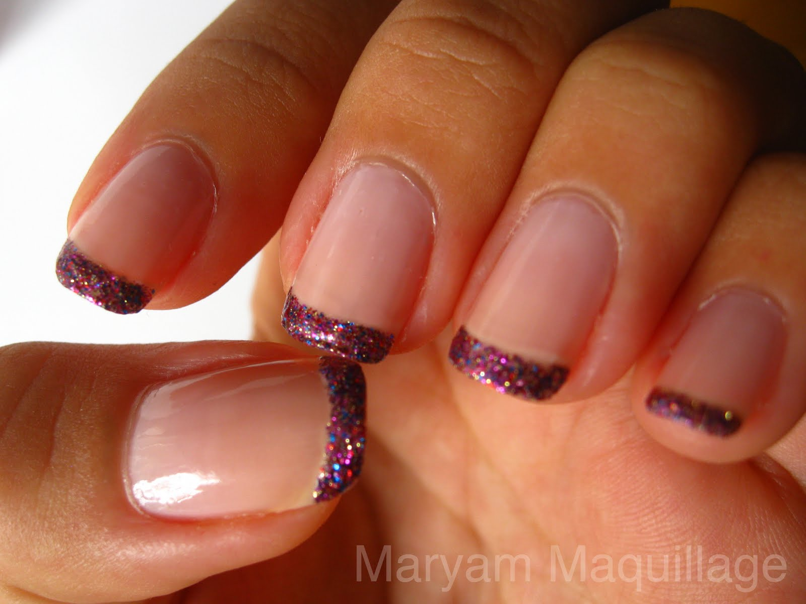maryam maquillage rockstar pink nail tips