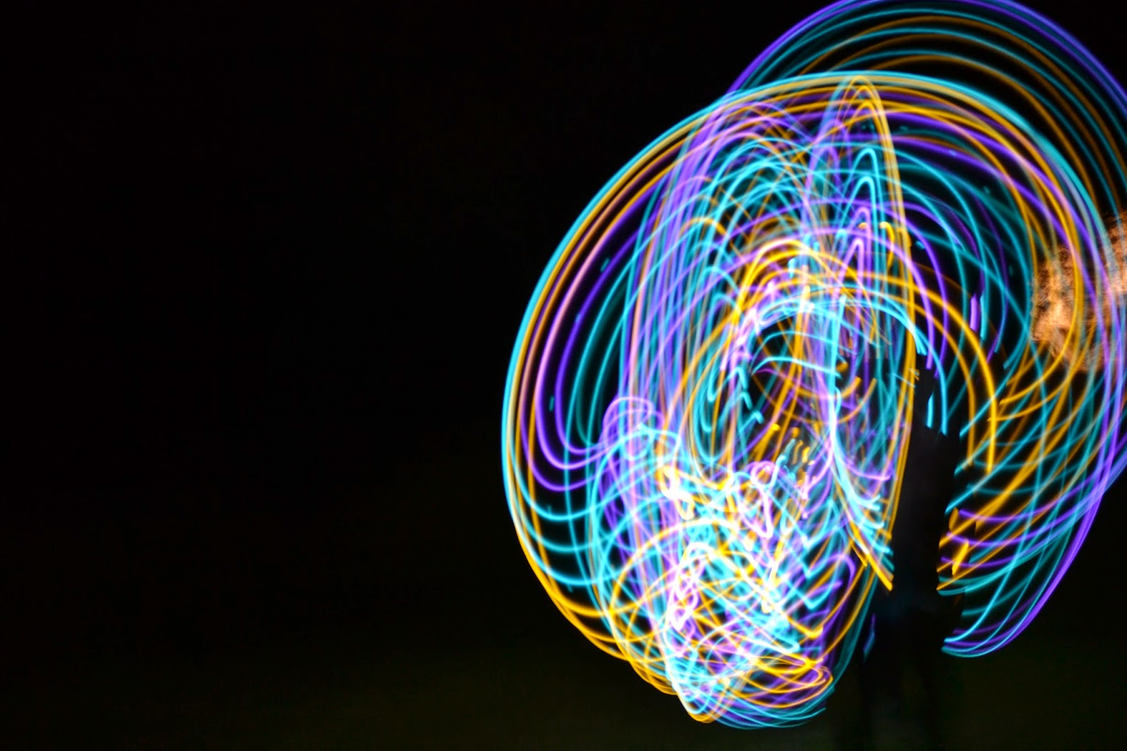 LED Hula Hoop Night Messy Squiggles