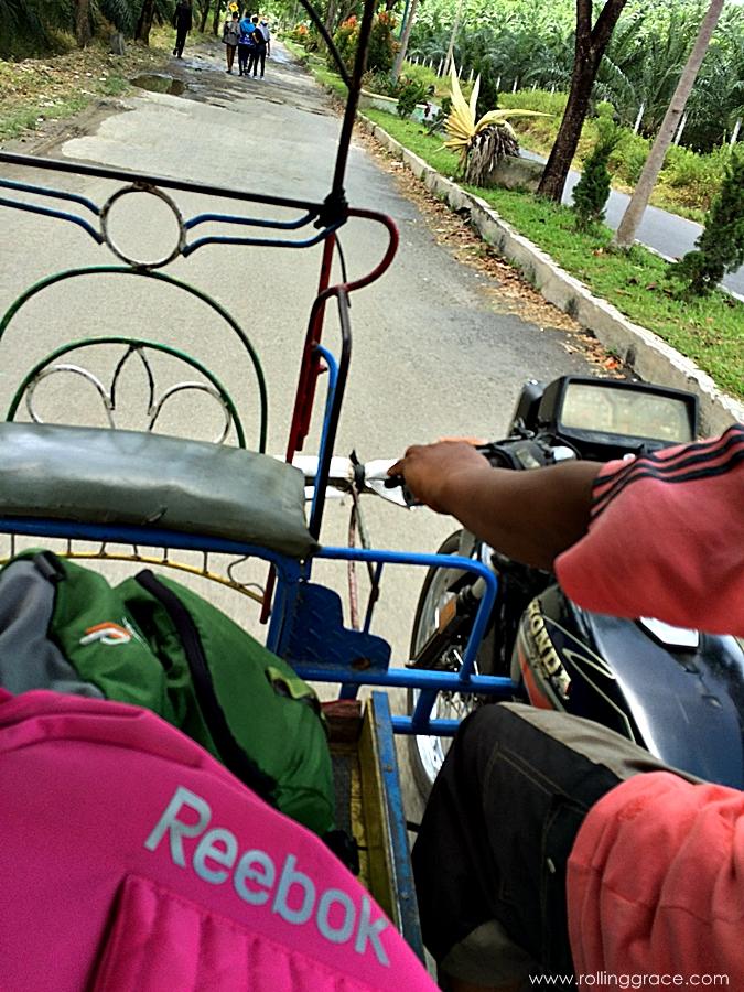 how to get around bukit lawang