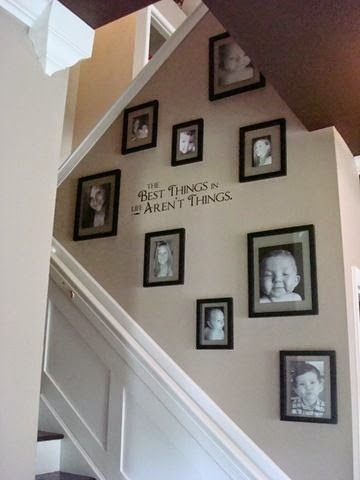 Stairway Wall Decorating Ideas painting ideas for stairway walls: painted stairs more remodel