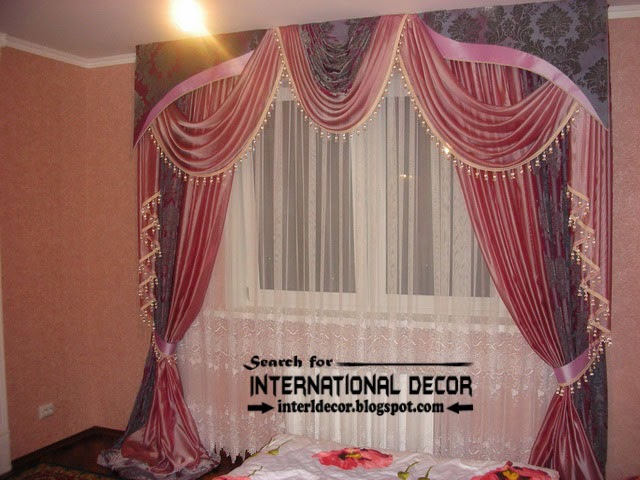 stylish bedroom curtain and drapes romantic style  curtain designs, Bedroom decor