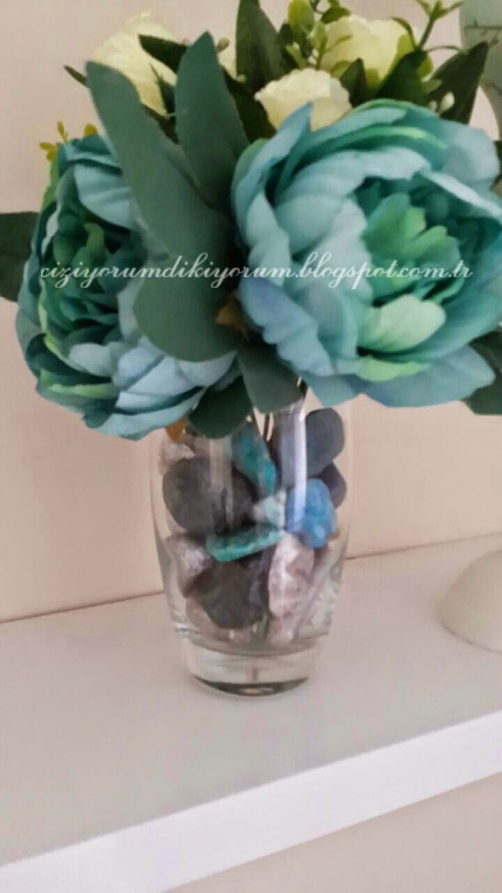 dekoratif taşlar diy çalışması