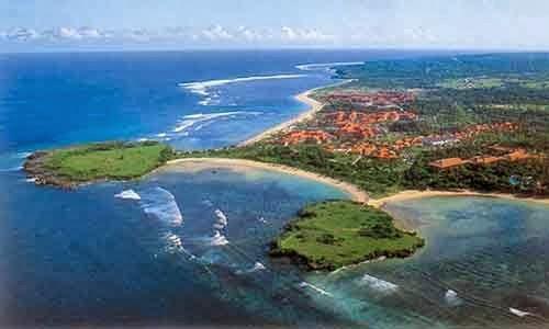 Nusa Dua island