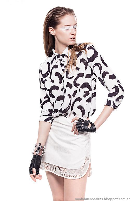 Blusas primavera verano 2015 Basement ropa de mujer.
