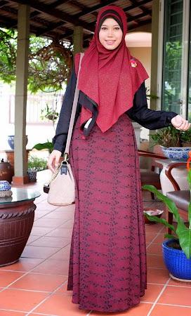 Koleksi Terbaru Long Skirt Chifon Full Lining Yang Sangat Menawan. Ada Pelbagai Warna