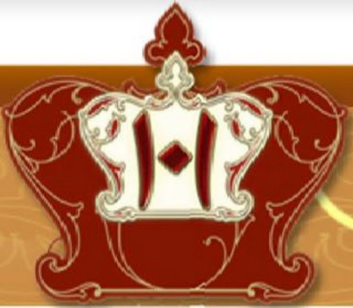 LOGO OF 101 MILAD MUBARAK OF AQA MAULA (TUS)
