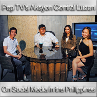 Aksyon Central Luzon, Pep TV Clark, ComClark, Sonny C Lopez, Jaypee David interview, Erika Louise Pine, Maika Alizarine Ramos, Social Media in the Philippines