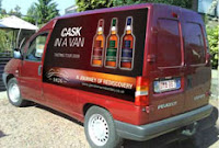 the glendronach 'cask in a van'
