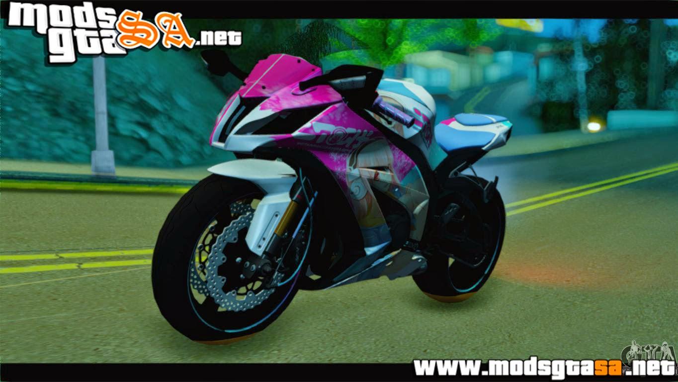 SA - Kawasaki Ninja ZX-10R Super Sonico Itansha