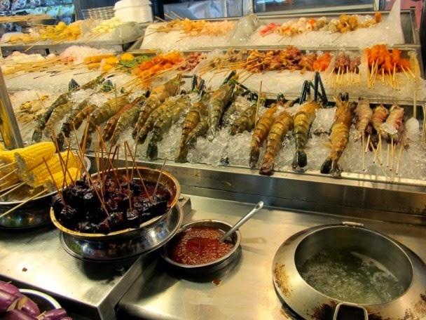Wisata Kuliner Paling Enak Di Kuala Lumpur SEA FOOD DI JALAN ALOR