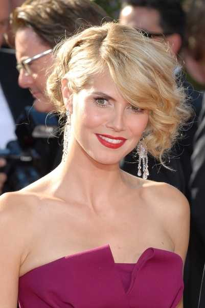 curly hairstyles for long hair tumblr on Heidi Klum Long Hair Styles
