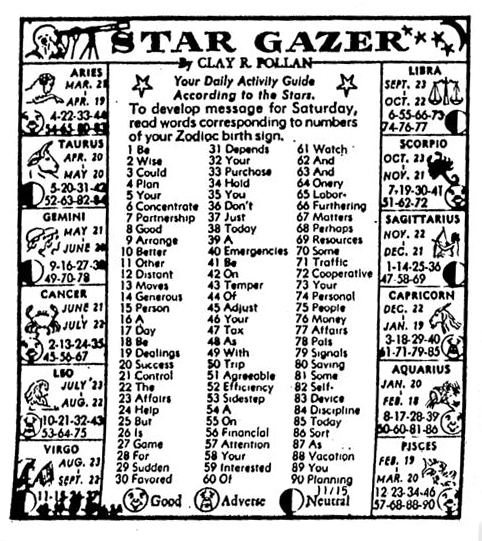 star gazer astrology by clay r pollan